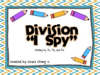 Division I Spy Game FREEBIE!