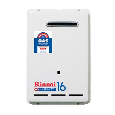 Infinity 16 Continuous Flow Water Heater - Rinnai Australia