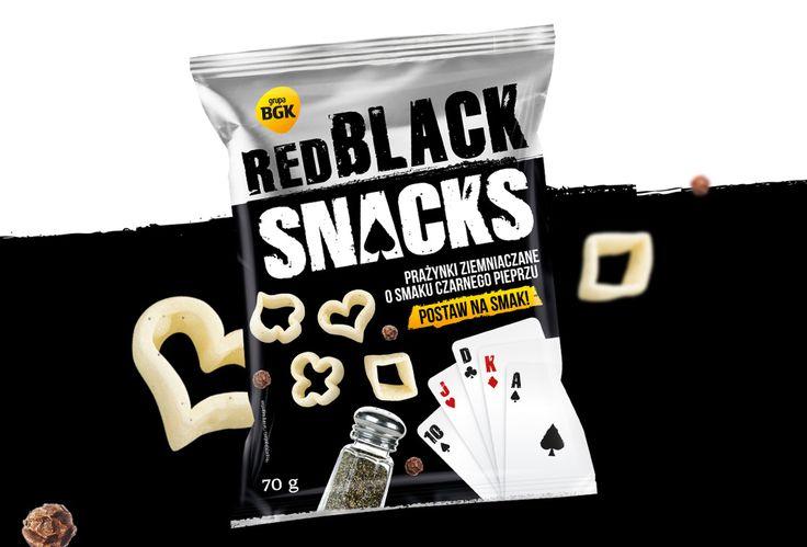 Red Black Snack - Lookin' Good - projektowanie opakowań, marek, strategie marketingowe, kampanie promocyjne.