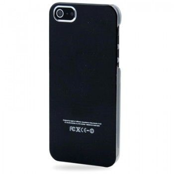 iPhone 5/5S Cases : Crystal 2-color Case for iPhone 5 - Black