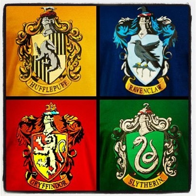 which of the four hogwarts houses would you choose in harry potter the exhibition the. Black Bedroom Furniture Sets. Home Design Ideas