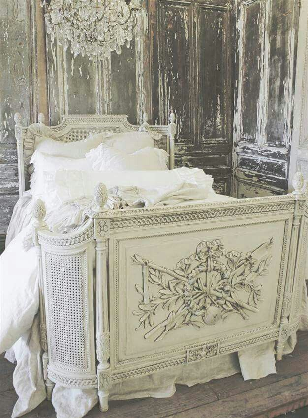 2185 best images about shabby chic french cottage on for French farmhouse bed