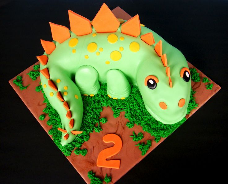 Cake Designs Dinosaur : 620 best images about Dinosaur Cakes on Pinterest More ...