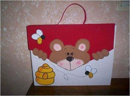 Carpetas decoradas sencillas para niños - Imagui