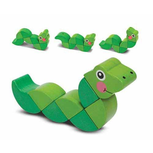 Wiggling Worm Toy