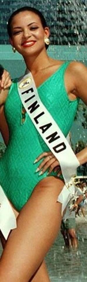Lola Iyabode Odusoga - Miss Universe Finland 1996