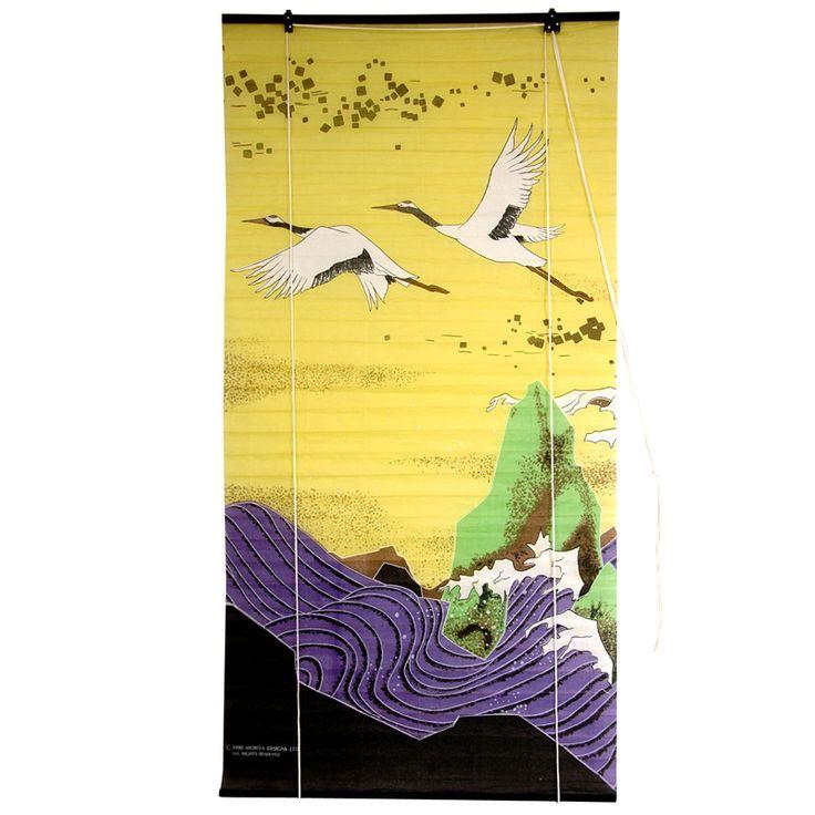 Flying Crane Shoji Paper Blinds $44