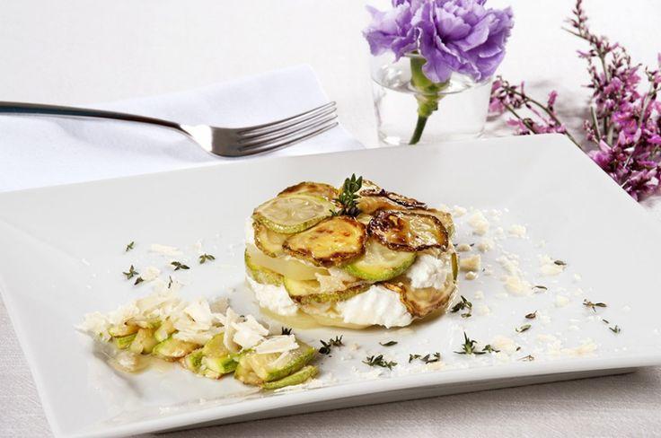 Tortino di zucchine, ricotta e patate ricetta