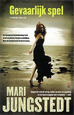 """Boek """"Gevaarlijk spel"""" van Mari Jungstedt   ISBN: 9789022999288, verschenen: 2012, aantal paginas: 248"""