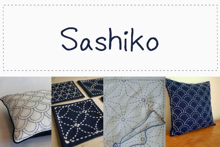 DIY-cómo hacer el bordado japonés SASHIKO. http://idoproyect.com/blog/bordando-en-japones-sashiko/
