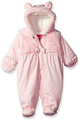 799703b95 baby snowsuit - London Fog Girls Sweet Little Critter Pram Baby Bear ...