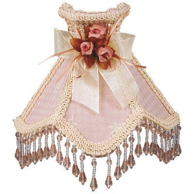 RoyalDesigns Beaded Victorian Night Light Color: Pink