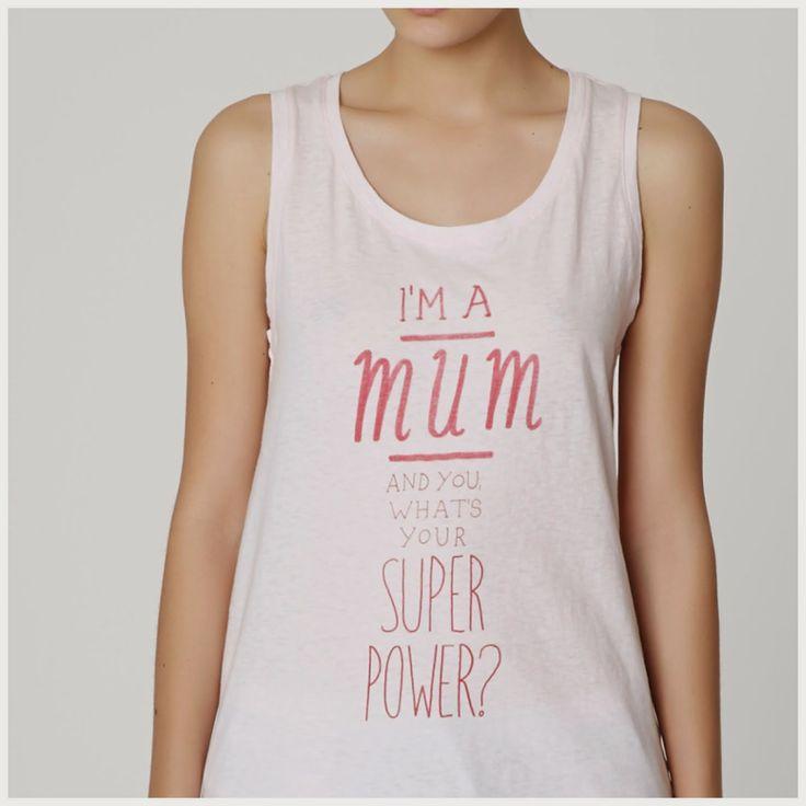 Lo quiero! Super mami!