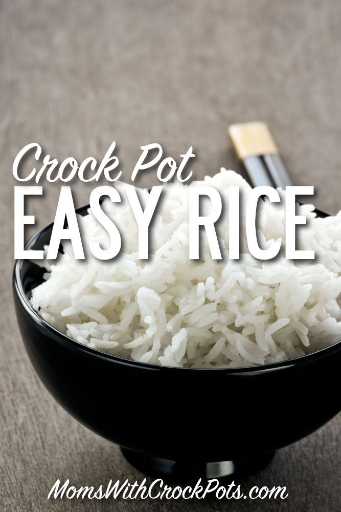 Save your money on a rice cooker and make your rice in the crock pot! Check out this Easy Crock Pot Rice Recipe