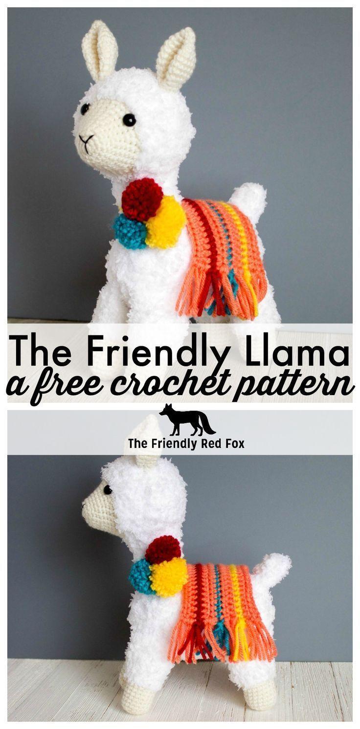 Crochet Llama Pattern – Candice Atwell