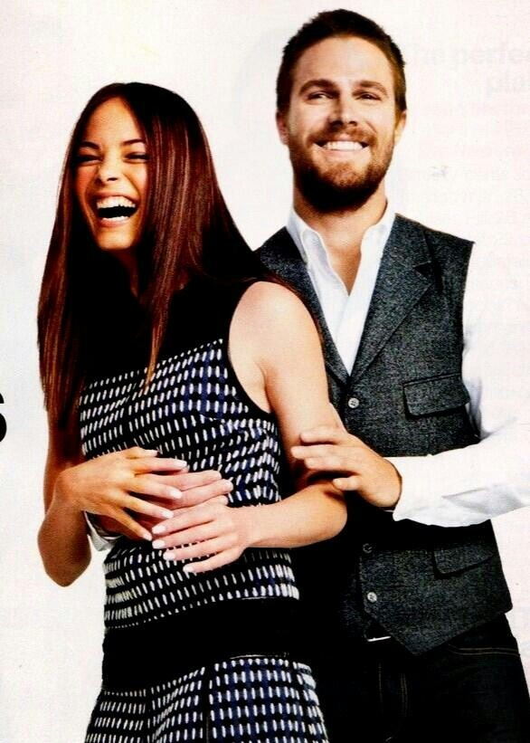 Kristin Kreuk and Stephen Amell (#arrow) #BATB | Beauty ...