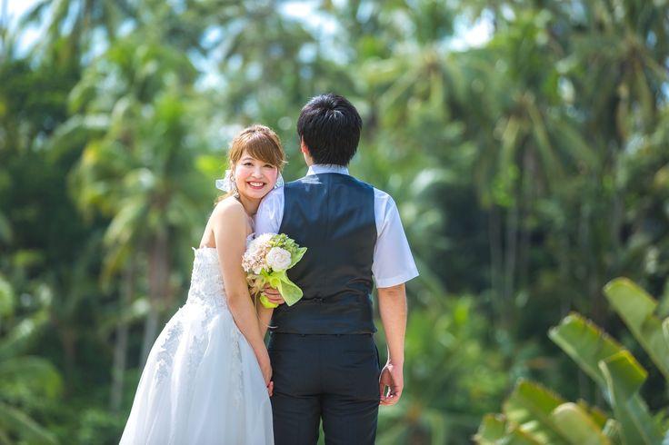 Wedding photo session in Viceroy Bali, located Ubud.