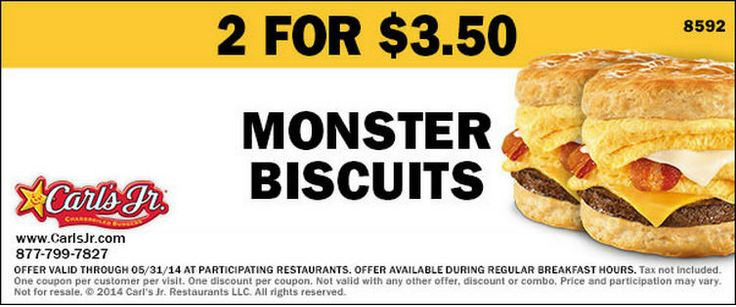Check out offers from carls jr using geoqpons app on your