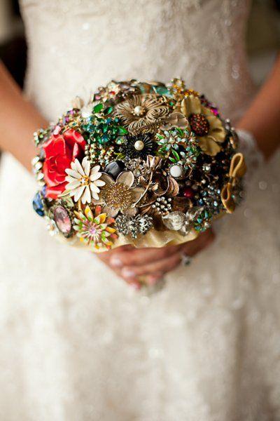 Wonderful Winter Bouquets Wedding Flowers Photos on WeddingWire - All Broaches!