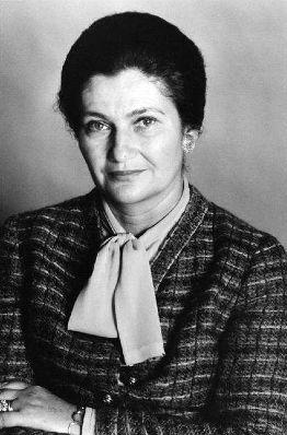 Simone Veil, Ministre de la Santé (loi Veil) - 1975- Janine Niepce