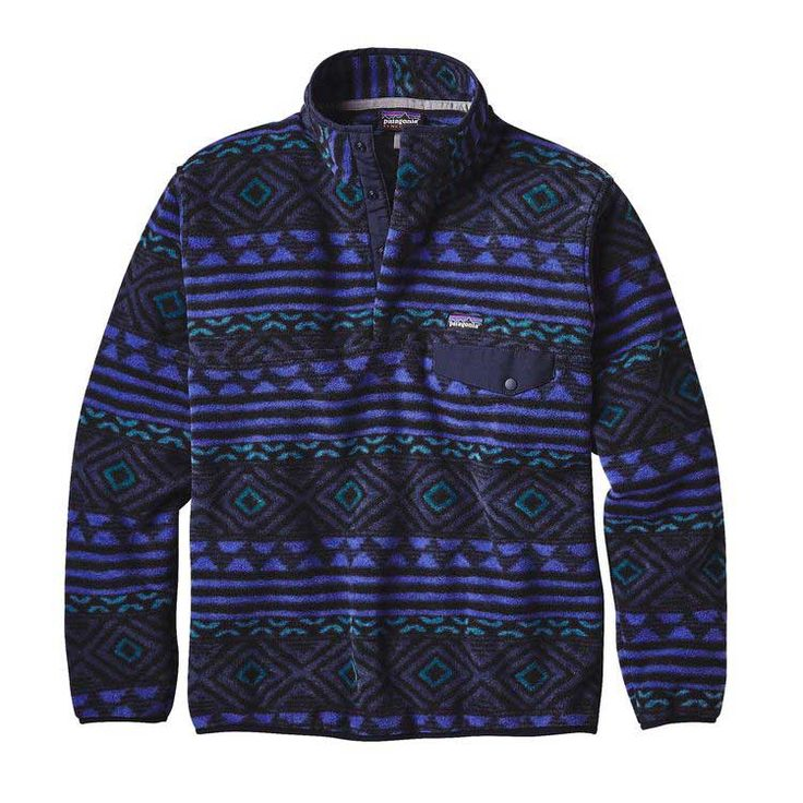 Patagonia Mens Synchilla Snap-T Pullover Fleece in Multiple Colors