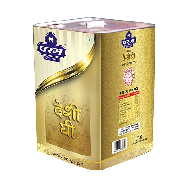 Param Premium Desi Ghee is a favorite ingredient not only for household meal preparations but also for mainstream chefs and nutritionists as they experience the qualities it brings to their dishes.