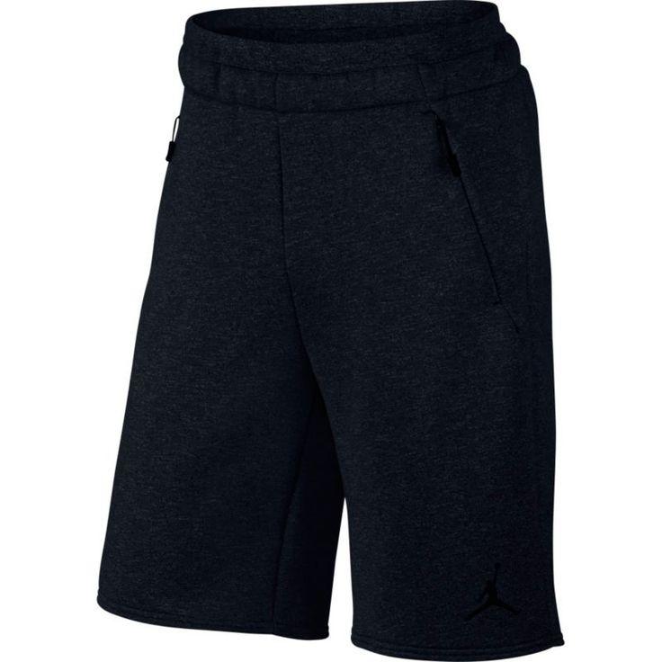 Jordan Men's Icon Fleece Shorts, Size: Medium, Black
