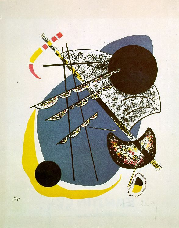 Wassily Kandinsky - Small Worlds II, 1922
