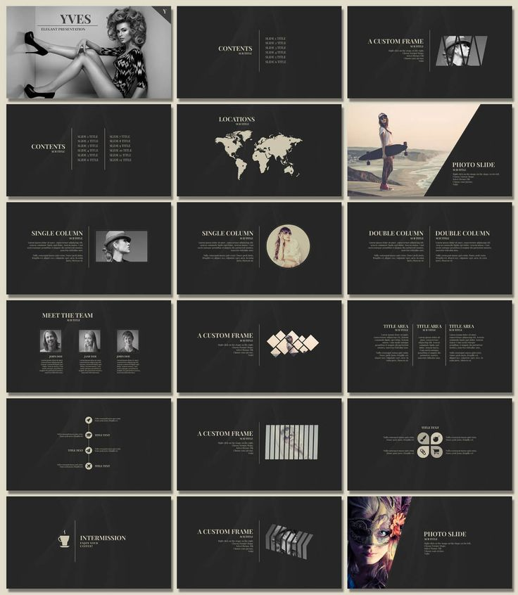 20 Outstanding Professional Powerpoint Templates | Articles