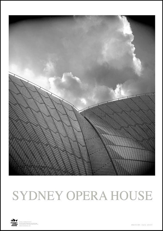 SYDNEY OPERA HOUSE    Silk high gloss photography paper