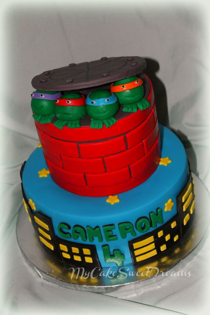 ninja turtle birthday cake ninja turtles ninjas forwards ninja turtles ...