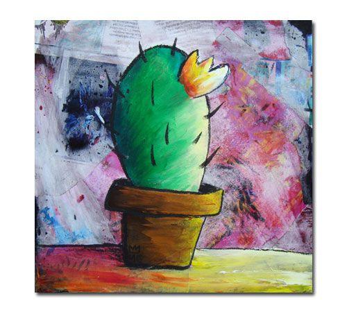 Elena Mirandola - quadri cactus