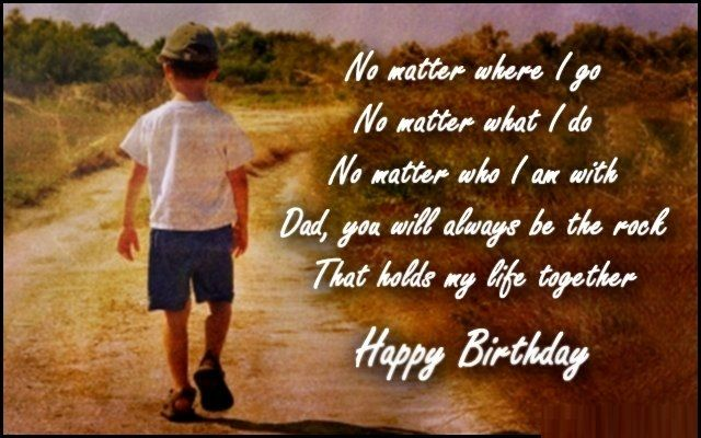 Birthday wishes for Father – Father birthday messages, Images and quotes
