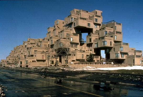 1. ARCH. MOSHE SAFADIE Habitat 67 Montreal 1967