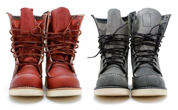 Continuing his partnership with Red Wing Shoes, Ronnie Fieg designs two new colorways in the