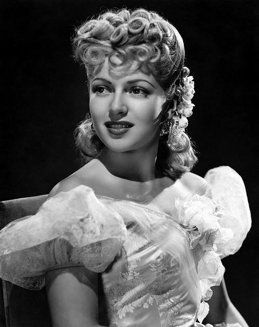 Lana Turner. c. 1940's.