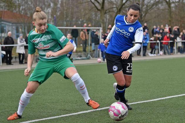 2. Frauen-Bundesliga: 1:0 in Potsdam +++ Grünheid trifft zum Arbeitssieg