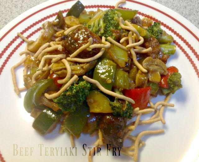 MOST VIEWED AT DUCKS IN A ROW:  Beef Teriyaki Stir Fry from The Tumbleweed Contessa