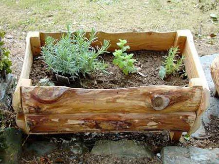25 Best Ideas About Wooden Garden Planters On Pinterest