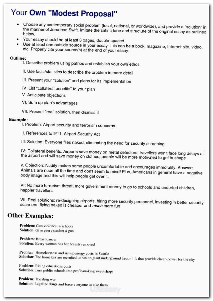 Best Problem Solution Essay Ideas 25 Examples Of