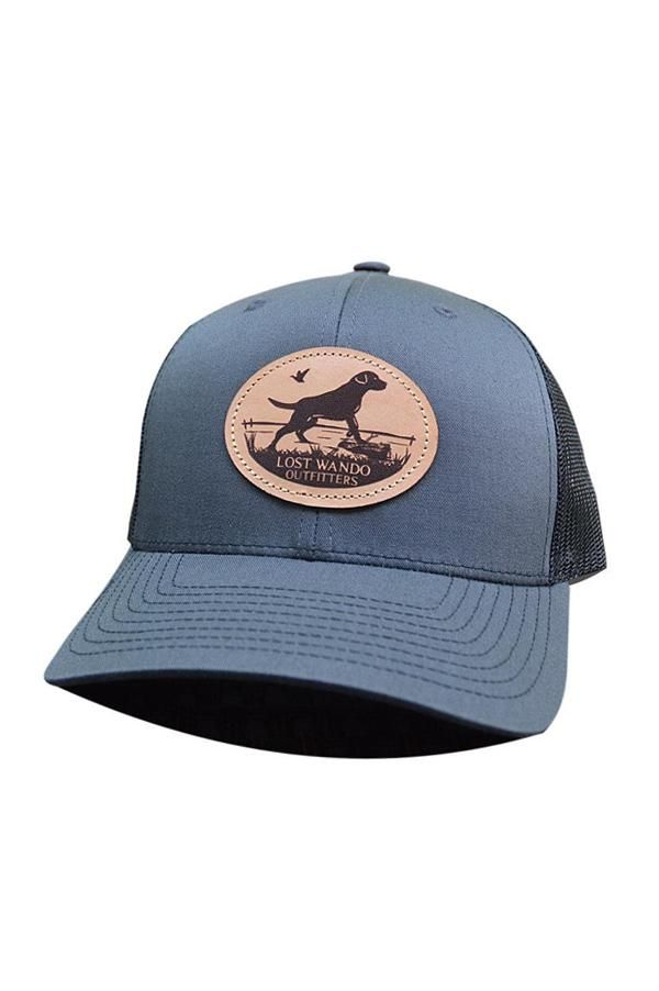 2dcd7e262 Marsh Lab leather Patch Hat | Charcoal and Black in 2019 | Products ...