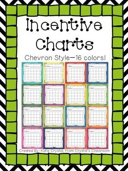 These generic incentive charts each have a 20-box grid perfect for filling with stickers, stars, or checks that students earn as they work towards a reward. Featured in 16 colors, these charts are an ideal tool to aid in whole class, small group, or individual behavior management as students track their success.