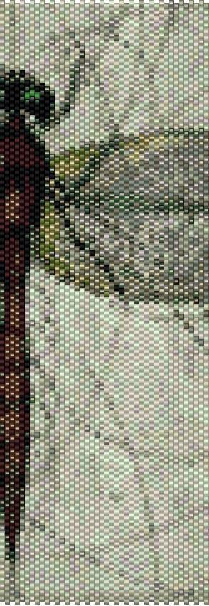 Peyote Bracelet Beading Pattern for Advanced Beaders Pattern by BellestriOriginals on Etsy