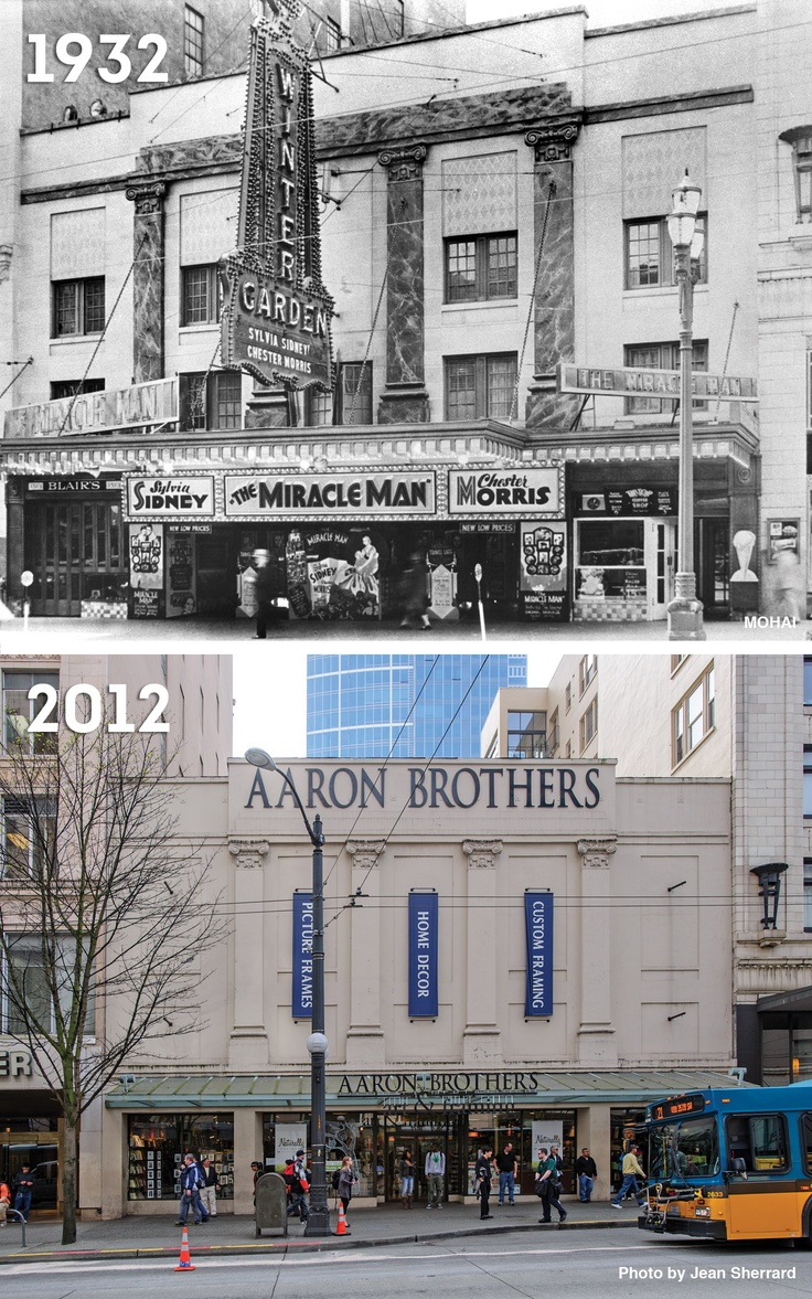 14 best from the archives images on pinterest seattle - Downtown at the gardens movie times ...