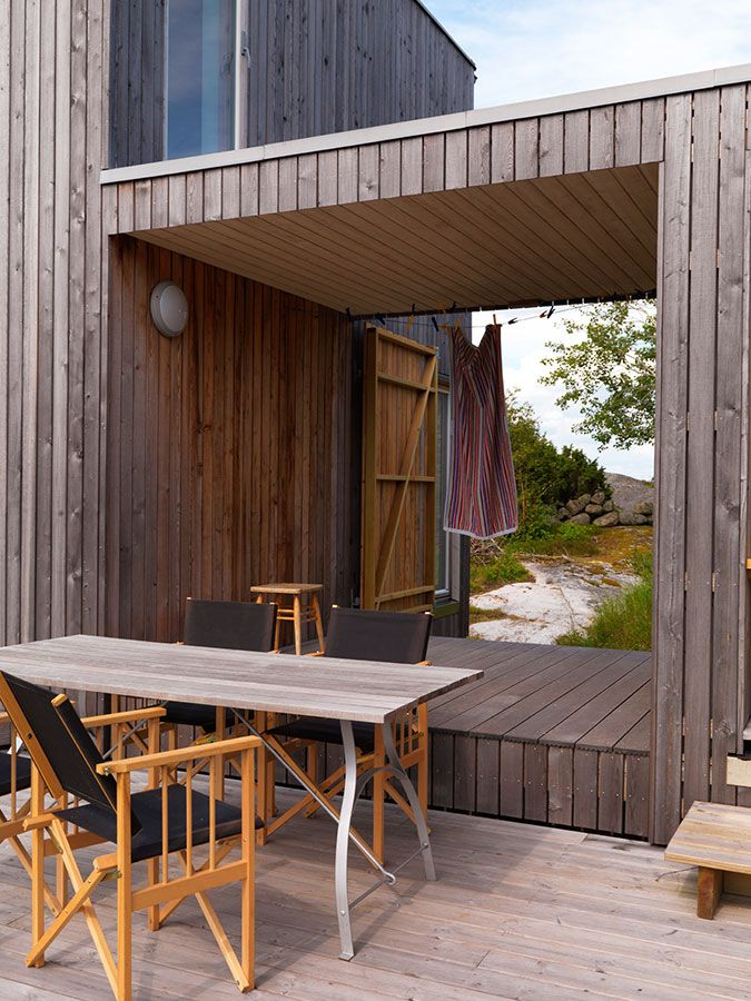 #Architecture #Design #Interior #interiordesign #wood #Cabin #Summer #Sweden #Grebbestad  #Scandinavia #landscape #HaraldLode