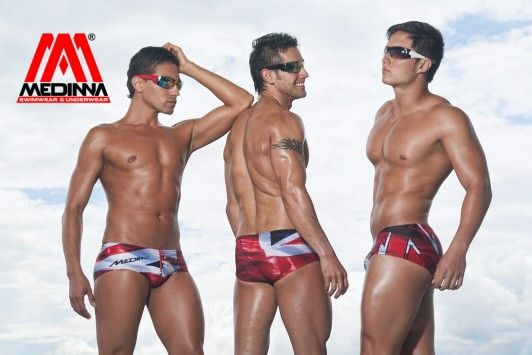 MEDINNA COLLAGE COLLECTION 2014 swimwear