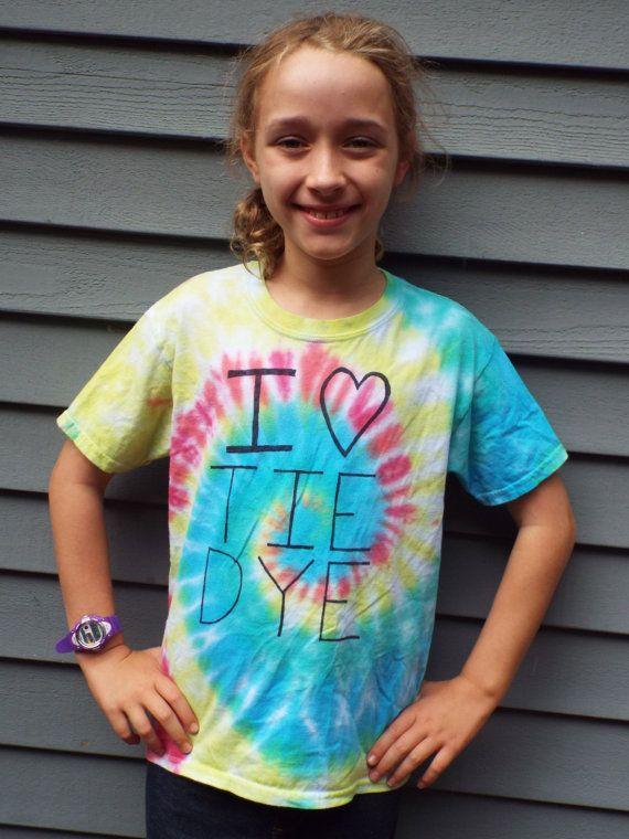 Custom I Heart Kids Shirts Custom Tie Dye from Anything on a Tie Dye at CreationsbyMaris https://www.etsy.com/listing/247594940/custom-i-heart-kids-shirts-custom-tie