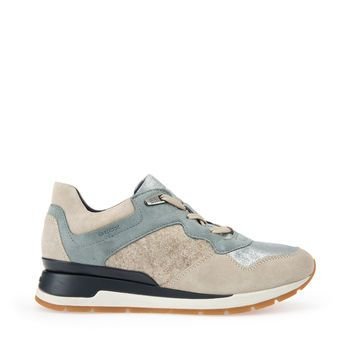 Shop Shahira women's sneakers in beige. Find more at Geox.com!
