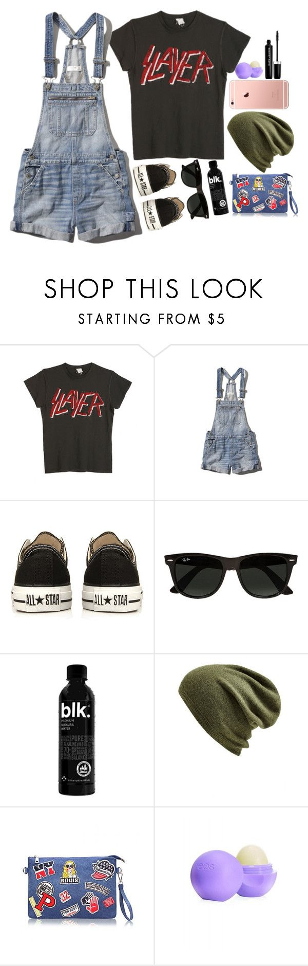 """100 Day Challenge! Day 3: Day around town"" by cosmic-calum ❤ liked on Polyvore featuring MadeWorn, Abercrombie & Fitch, Converse, Ray-Ban, Echo, Eos and Marc Jacobs"