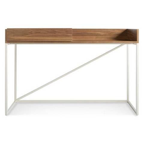 desks for small spaces blu dot angular desk